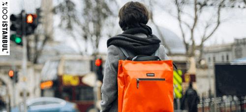 çöpten imal edilen çanta